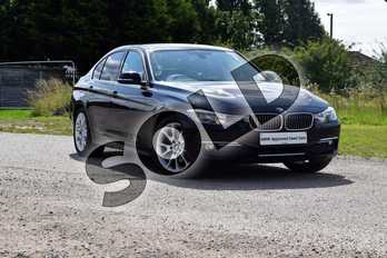 BMW 3 Series Diesel 320d Luxury 4dr in Black Sapphire metallic paint at Listers Boston (BMW)