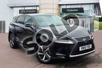 Lexus NX 300h 2.5 Takumi 5dr CVT (Pan roof) in Graphite Black at Lexus Cheltenham