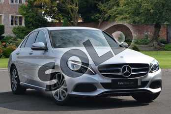 Mercedes-Benz C Class Diesel C220d Sport 4dr 9G-Tronic in iridium silver metallic at Mercedes-Benz of Lincoln