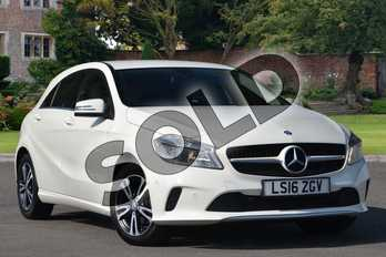 Mercedes-Benz A Class Diesel A180d SE Executive 5dr Auto in Cirrus White at Mercedes-Benz of Lincoln