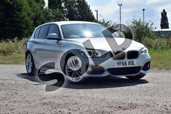 BMW 1 Series 116d M Sport 5-Door in Glacier Silver at Listers Boston (BMW)