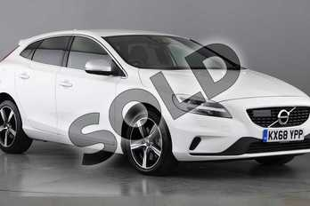 Volvo V40 T3 (152) R DESIGN Nav Plus 5dr Geartronic in 614 Ice White at Listers Volvo Worcester