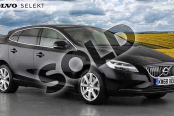 Volvo V40 T2 (122) Inscription 5dr Geartronic in 717 Onyx Black at Listers Volvo Worcester