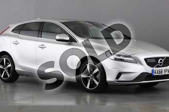 Volvo V40 T3 (152) R DESIGN Nav Plus 5dr Geartronic in 711 Bright Silver at Listers Volvo Worcester