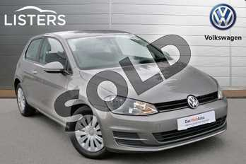 Volkswagen Golf 1.4 TSI S 3dr in Limestone Grey at Listers Volkswagen Evesham