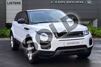 Range Rover Evoque Diesel 2.0 eD4 SE Tech 5dr 2WD in Yulong White at Listers Land Rover Hereford