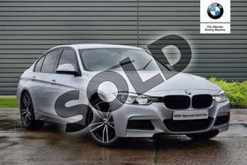 BMW 3 Series Diesel 320d M Sport 4dr Step Auto in Glacier Silver at Listers Boston (BMW)