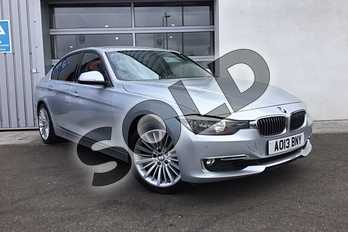 BMW 3 Series Diesel 330d Luxury 4dr Step Auto in Glacier Silver at Listers King's Lynn (BMW)