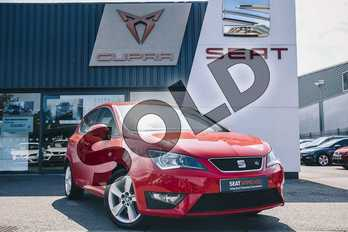 SEAT Ibiza 1.2 TSI 110 FR Technology 5dr in Red at Listers SEAT Coventry