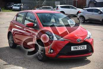 Toyota Yaris 1.5 VVT-i Icon 5dr in Chilli Red at Listers Toyota Boston