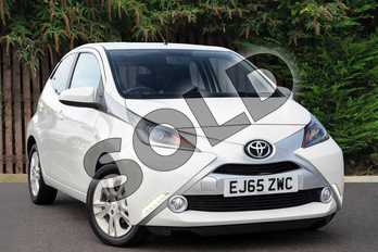 Toyota AYGO Special Editions 1.0 VVT-i X-Pure 5dr x-shift in Pure White at Listers Toyota Coventry