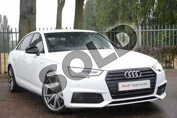 Audi A4 Special Editions 1.4T FSI Black Edition 4dr in Ibis White at Coventry Audi
