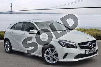 Mercedes-Benz A Class Diesel A180d Sport Premium 5dr Auto in Cirrus White at Mercedes-Benz of Hull