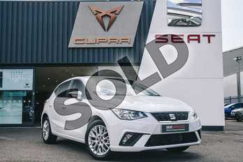 SEAT Ibiza 1.0 SE Technology (EZ) 5dr in White at Listers SEAT Coventry