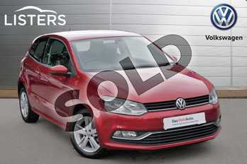 Volkswagen Polo 1.2 TSI Match 3dr in Carmen Red at Listers Volkswagen Evesham