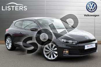 Volkswagen Scirocco 2.0 TSI BlueMotion Tech GT 3dr DSG in Urano Grey at Listers Volkswagen Nuneaton