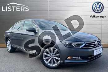 Volkswagen Passat Diesel 2.0 TDI SE Business 4dr in Indium Grey at Listers Volkswagen Stratford-upon-Avon