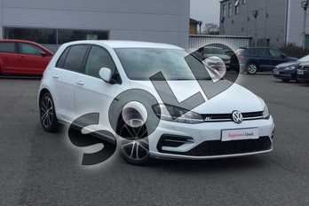 Volkswagen Golf Diesel 2.0 TDI R-Line 5dr in Pure white at Listers Volkswagen Worcester