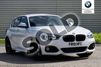 BMW 1 Series Special Edition 120d xDrive M Sport Shadow Ed 5dr Step Auto in Alpine White at Listers Boston (BMW)