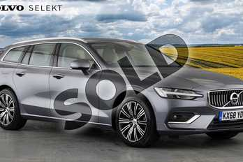Volvo V60 Diesel Sportswagon 2.0 D3 Inscription 5dr Auto in Osmium Grey at Listers Volvo Worcester