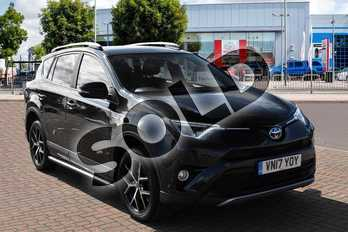 Toyota RAV4 2.5 VVT-i Hybrid Icon TSS 5dr CVT in Eclipse Black at Listers Toyota Cheltenham