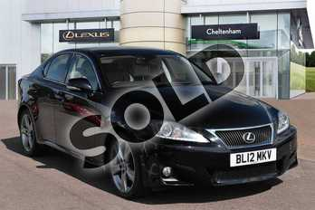 Lexus IS Special Editions 250 Advance 4dr Auto in Velvet Black at Lexus Cheltenham