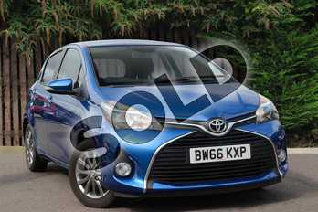 Toyota Yaris 1.33 VVT-i Icon 5dr in Island Blue at Listers Toyota Coventry