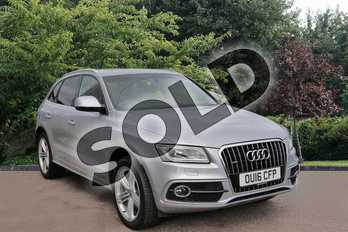 Audi Q5 Special Editions 2.0T FSI (230) Quattro S Line Plus 5dr Tip Auto in Silver at Listers Toyota Stratford-upon-Avon