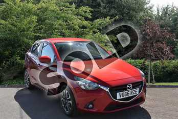 Mazda 2 Mazda 1.5 Sport Nav 5dr in Red at Listers Toyota Stratford-upon-Avon