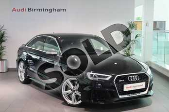 Audi RS3 RS 3 RS 3 TFSI 400 Quattro 4dr S Tronic in Myth Black Metallic at Birmingham Audi