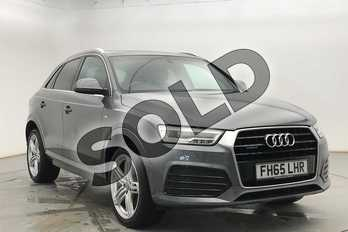 Audi Q3 Special Editions 2.0 TDI Quattro S Line Plus 5dr in Monsoon Grey Metallic at Coventry Audi