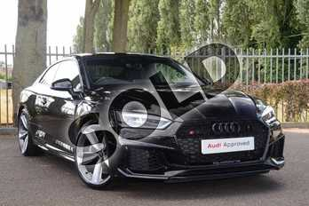 Audi RS5 RS 5  Special Edition RS 5 TFSI Quattro Audi Sport Edn 2dr Tiptronic in Myth Black Metallic at Coventry Audi