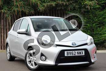Toyota Yaris 1.5 VVT-i Hybrid T Spirit 5dr CVT in Tyrol Silver at Listers Toyota Coventry