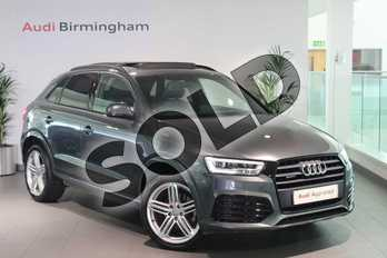 Audi Q3 Special Editions 2.0 TDI Quattro S Line Plus 5dr in Daytona Grey Pearlescent at Birmingham Audi