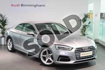 Audi A5 2.0 TFSI Sport 2dr S Tronic in Floret Silver Metallic at Birmingham Audi