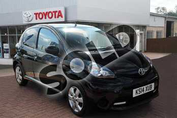 Toyota AYGO 1.0 VVT-i Move with Style 5dr in Tempest Black at Listers Toyota Grantham