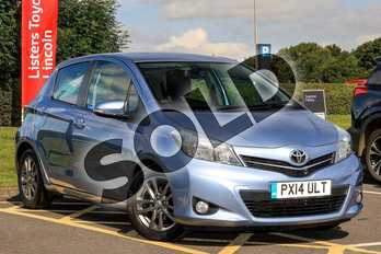 Toyota Yaris Diesel 1.4 D-4D Icon+ 5dr in Blue at Listers Toyota Lincoln