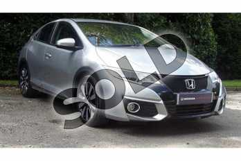 Honda Civic 1.4 i-VTEC SE Plus 5dr  in Lunar Silver M at Listers Honda Coventry