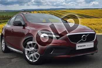 Volvo V40 T3 (152) Cross Country Pro 5dr Geartronic in Flamenco Red at Listers Volvo Worcester
