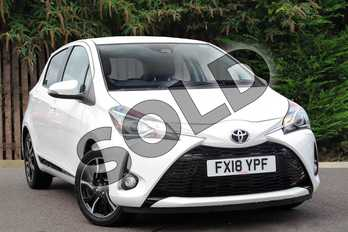 Toyota Yaris 1.5 VVT-i Design 5dr in Pure White at Listers Toyota Coventry