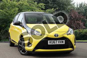 Toyota Yaris Special Editions 1.5 VVT-i Yellow Edition 5dr in Yellow at Listers Toyota Nuneaton