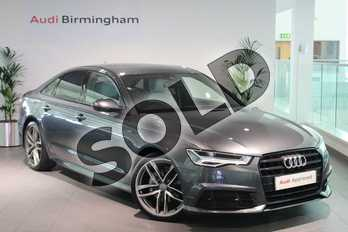 Audi A6 Special Editions 2.0 TDI Ultra Black Edition 4dr in Daytona Grey Pearlescent at Birmingham Audi