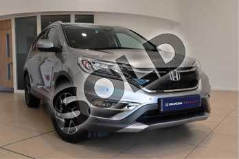 Honda CR-V 2.0 i-VTEC SE Plus 5dr  in Lunar Silver M at Listers Honda Northampton