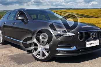 Volvo V90 2.0 T5 Inscription Pro 5dr Geartronic in 724 Pine Grey at Listers Volvo Worcester