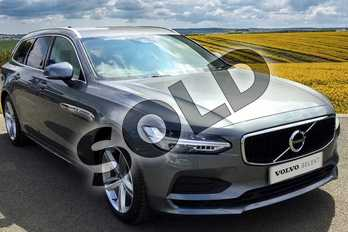 Volvo V90 2.0 T4 Momentum 5dr Geartronic in Osmium Grey at Listers Volvo Worcester