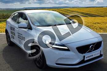 Volvo V40 T2 (122) R DESIGN Edition 5dr in Ice White at Listers Volvo Worcester