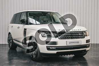 Range Rover Diesel 4.4 SDV8 Autobiography 4dr Auto in Valloire White gloss at Listers Land Rover Solihull