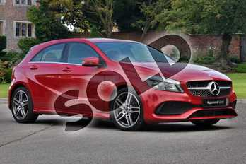 Mercedes-Benz A Class Diesel A180d AMG Line 5dr in Jupiter Red at Mercedes-Benz of Hull