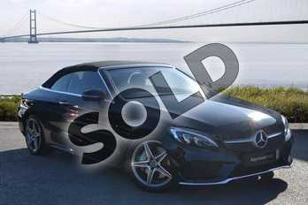 Mercedes-Benz C Class Diesel C250d AMG Line Premium Plus 2dr Auto in obsidian black metallic at Mercedes-Benz of Hull