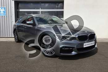BMW 5 Series Diesel 520d xDrive M Sport 4dr Auto in Bluestone at Listers King's Lynn (BMW)